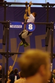 4 rounds: 15ft.ropeclimb, 100foot sprint, 4 squatcleans @225#, 100foot sprint