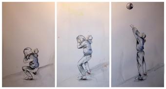 Laura Schreiber zeichnet Mark