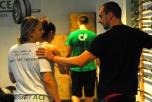 mit Coach Jo beim Training 2012